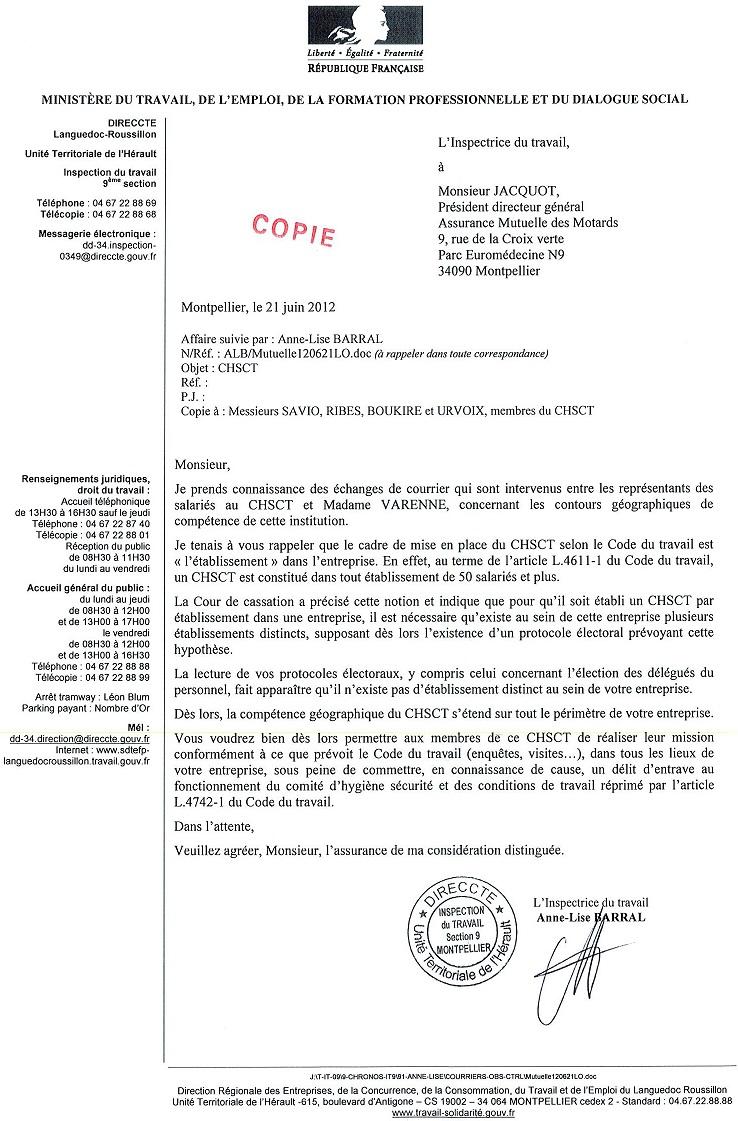 Comite Hygiene Securite Conditions De Travail Chsct Fo